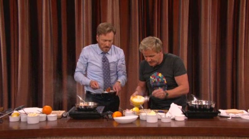 Gordon Ramsay u Conana O'Briena