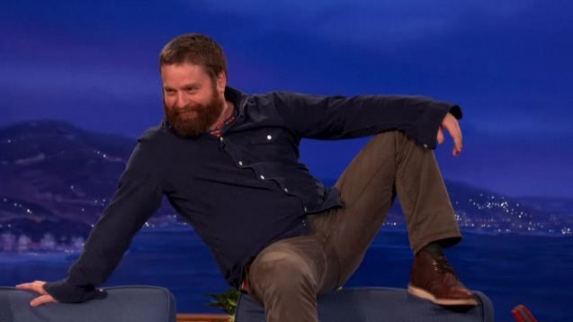 Zach Galifianakis u Conana O'Briena