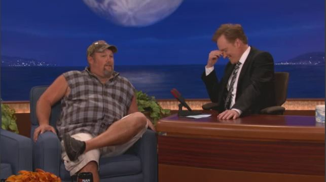 Larry the Cable Guy u Conana O'Briena