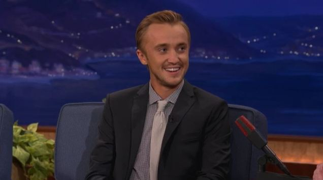 Tom Felton u Conana O'Briena