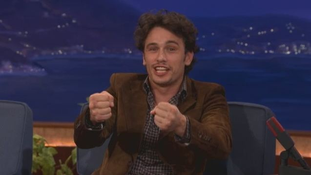 James Franco u Conana O'Briena