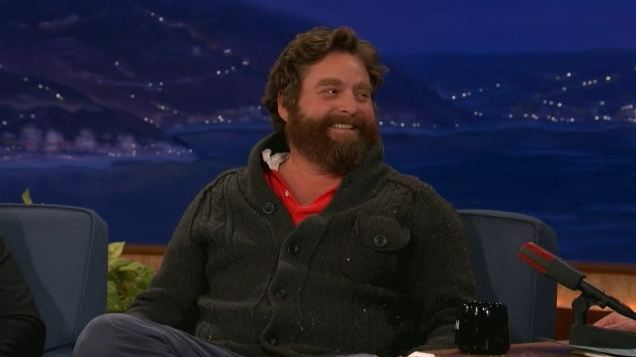 Zach Galifianakis podruhé u Conana O'Briena
