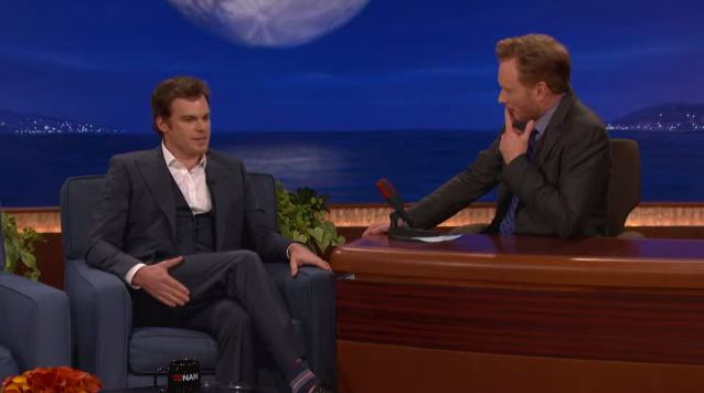 Michael C. Hall u Conana O'Briena