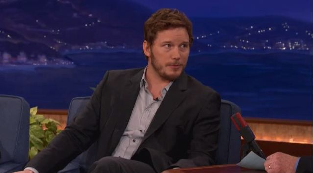 Chris Pratt u Conana O'Briena