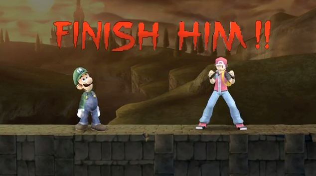 Fatality ve stylu Super Smash Bros.