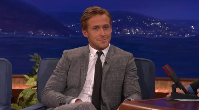 Ryan Gosling u Conana O'Briena
