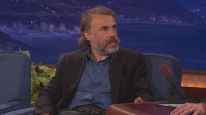 Christoph Waltz u Conana O'Briena